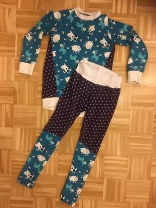 Makerist - Schlafanzug aus Resten - 1