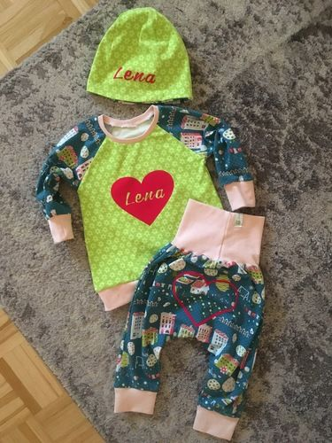 Makerist - Baby Set  - Nähprojekte - 1
