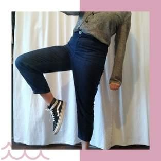 Makerist - Pantalon vaulion en jean - 1