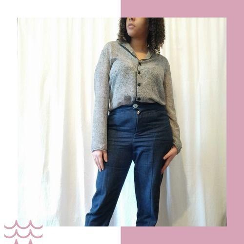 Makerist - Pantalon vaulion en jean - Créations de couture - 2