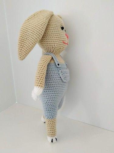 Makerist - Célestin le lapin - Créations de crochet - 2