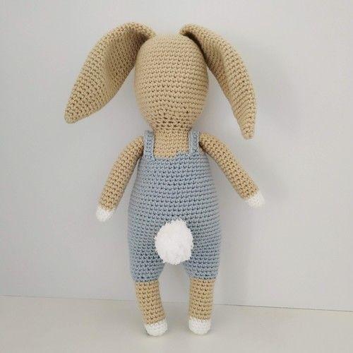 Makerist - Célestin le lapin - Créations de crochet - 3