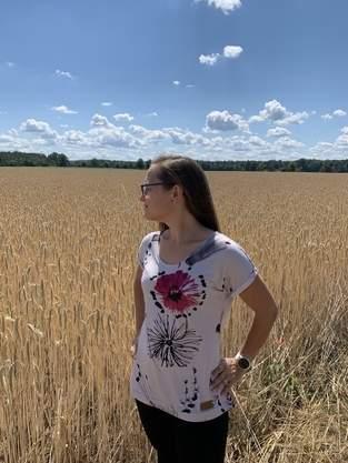 Lena als T-Shirt