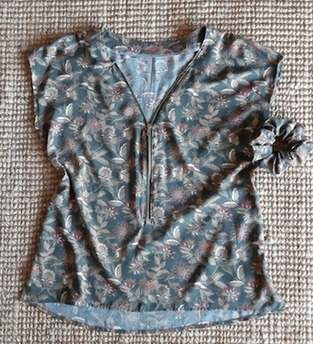 Makerist - Zipper Bluse aus Viskose - 1