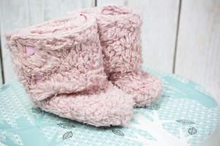 Makerist - Kuschlige Winterstiefel für Babies - 1