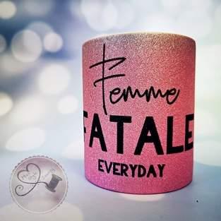 Makerist - Femme fatale B.Style Glitzertasse sublimiert - 1