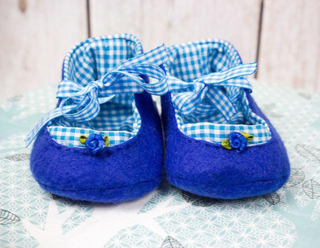 Makerist - Süße Babyschuhe für den Winter - Nähprojekte - 1