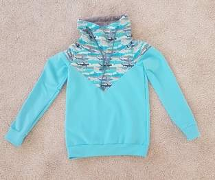 Kinder Melian Hoodie aus French Terry