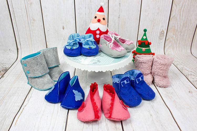Makerist - Babyschuhe für den Winter: Meine Sammlung - Nähprojekte - 1