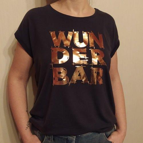 Makerist - Plottdatei WUNDERBAR von B.Style - Textilgestaltung - 1