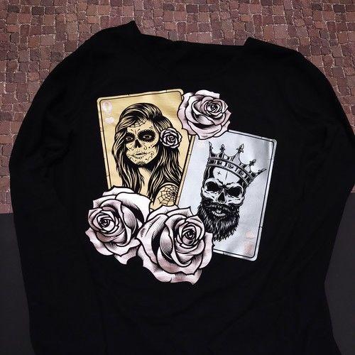"""Makerist - Plottdatei """"King and Queen"""" von B.Style - Textilgestaltung - 1"""
