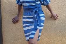 Makerist - Kastanie - Fledermauskleid für Damen aus Jaquardt-Jersey - 1