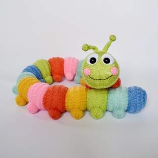 Makerist - Cuddly Caterpillar - 1