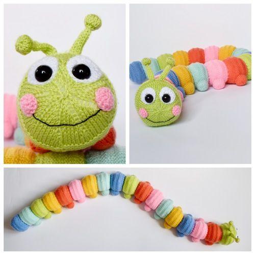 Makerist - Cuddly Caterpillar - Knitting Showcase - 2