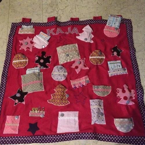 Makerist - Adventskalender für meine Nichte - Nähprojekte - 1