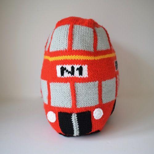 Makerist - London Bus - Knitting Showcase - 3
