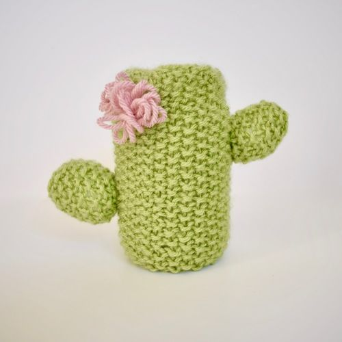 Makerist - Cactus Cushion and Pen Pot - Knitting Showcase - 2