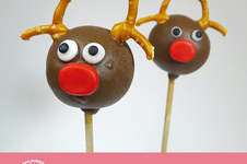 Makerist - Tutorial – Rentier Cake Pop - 1