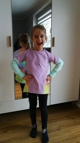 Makerist - Pastel rainbow Tee shirt - Nähprojekte - 1
