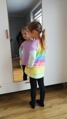 Makerist - Pastel rainbow Tee shirt - Nähprojekte - 2