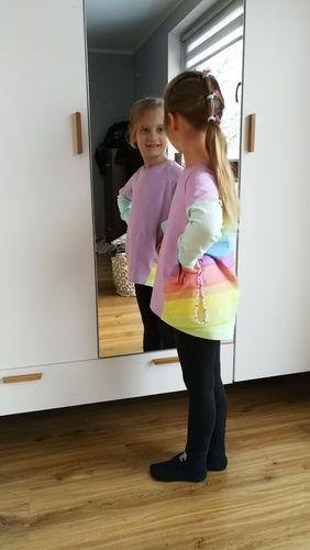 Makerist - Pastel rainbow Tee shirt - Nähprojekte - 3