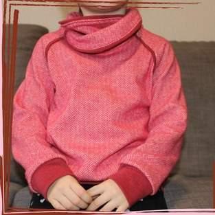 Makerist - Shirt Sarayu mit Wickelkragen - aus Jersey -  für Kinder  - 1