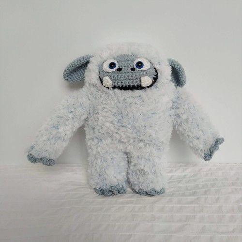 Makerist - Adorable yéti - Créations de crochet - 1