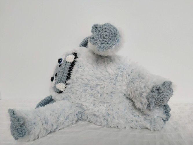 Makerist - Adorable yéti - Créations de crochet - 2