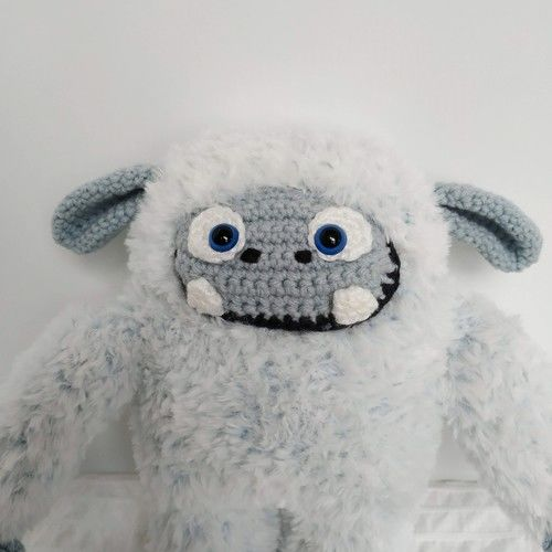 Makerist - Adorable yéti - Créations de crochet - 3