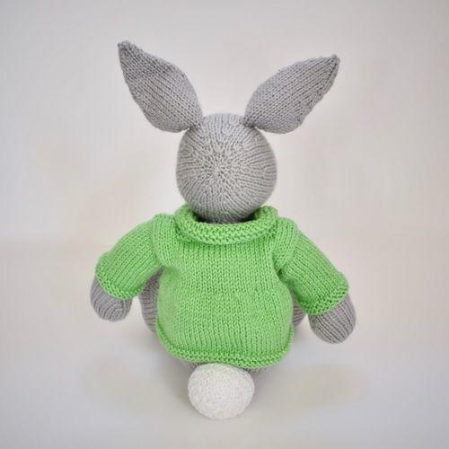 Makerist - Bertie Bunny - Knitting Showcase - 2