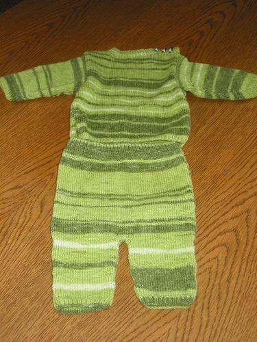 Makerist - Baby Kombination - Strickprojekte - 1