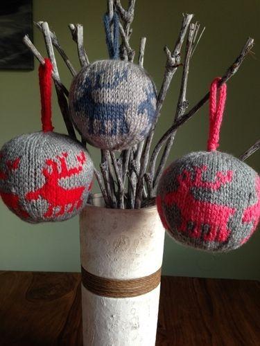 Makerist - Weihnachtskugel - Strickprojekte - 1