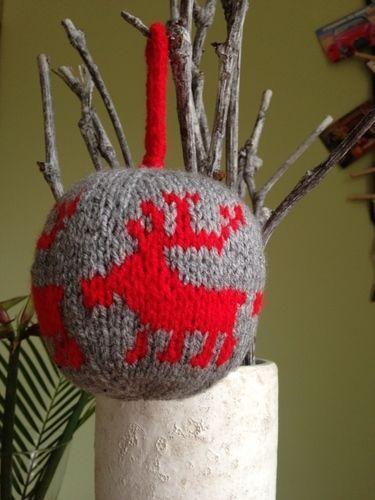 Makerist - Weihnachtskugel - Strickprojekte - 2