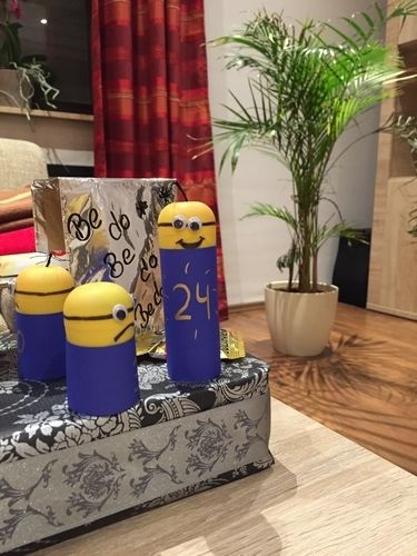 Makerist - Minion-Adventskalender - Werkzimmer - 2