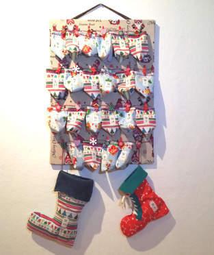 Makerist - XMAS-Adventskalender mit Säckchen für meinen Sohn - 1