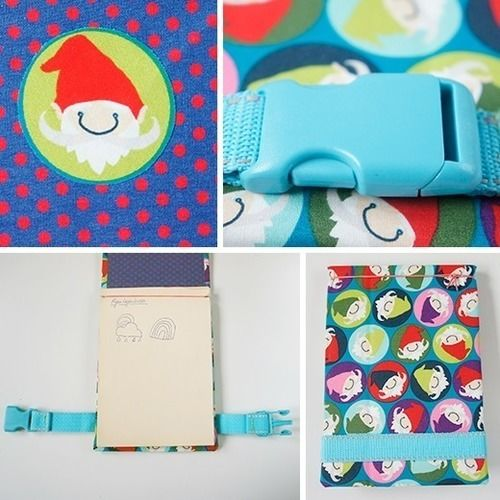 Makerist - einfacher Notizblock oder Skizzenbuch - DIY-Projekte - 2