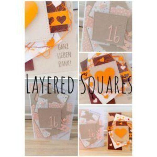 Makerist - Bastel DIY Layout : Karte im Layered Squares Design - DIY-Projekte - 1