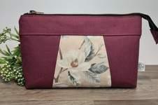 Makerist - Little Bag Hira mit Blumenstoff - 1