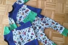 Makerist - Set aus Hose, Shirt und T-Shirt  - 1