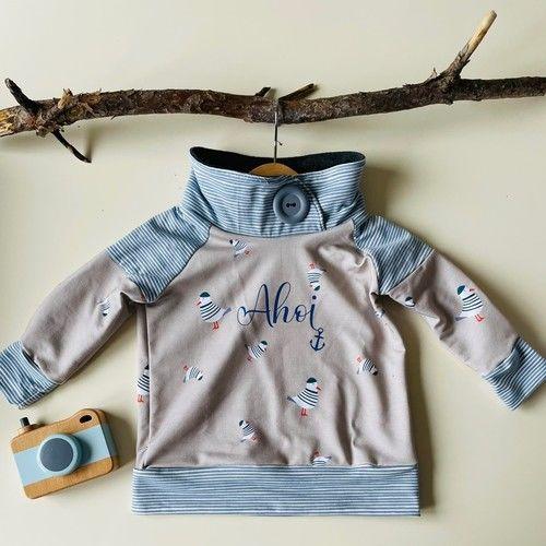 Makerist - Shirt Sarayu mit Wickelkragen - aus Jersey -  für Kinder - Nähprojekte - 1