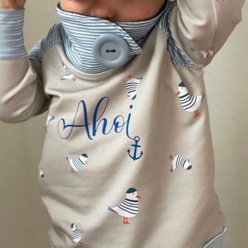 Makerist - Shirt Sarayu mit Wickelkragen - aus Jersey -  für Kinder - Nähprojekte - 2
