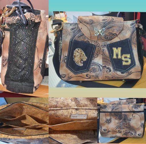 Makerist - Meine Baker Street Bag aus zwei alten Jeans. - Nähprojekte - 1