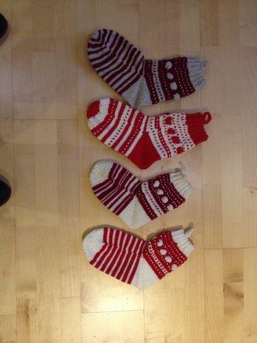 Makerist - Weihnachtssocken - Strickprojekte - 1