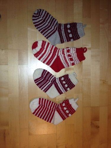 Makerist - Weihnachtssocken - Strickprojekte - 2