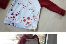 Makerist - Kinder Hoodie im Konfetti-Look - 1