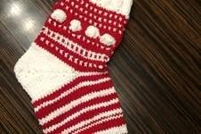 Makerist - Weihnachtssocke - 1