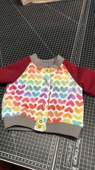 Makerist - Baby Jacke von handmade with Eva baby  - 1