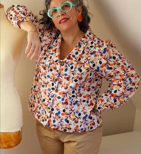 Makerist - Chemisier pepsy vintage  - Créations de couture - 1