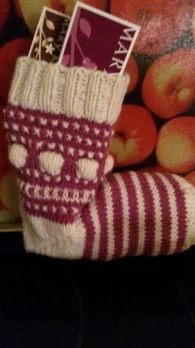 Makerist - Mystery Knit-along Weihnachtssocke - Strickprojekte - 1