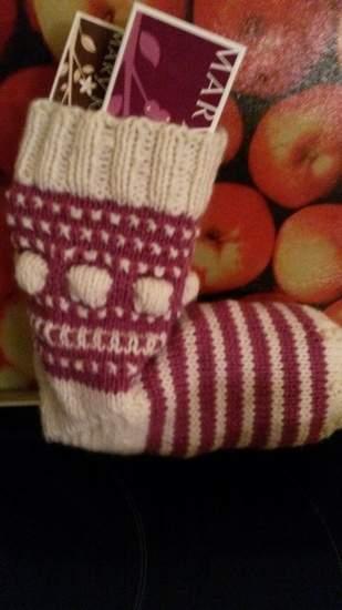 Mystery Knit-along Weihnachtssocke